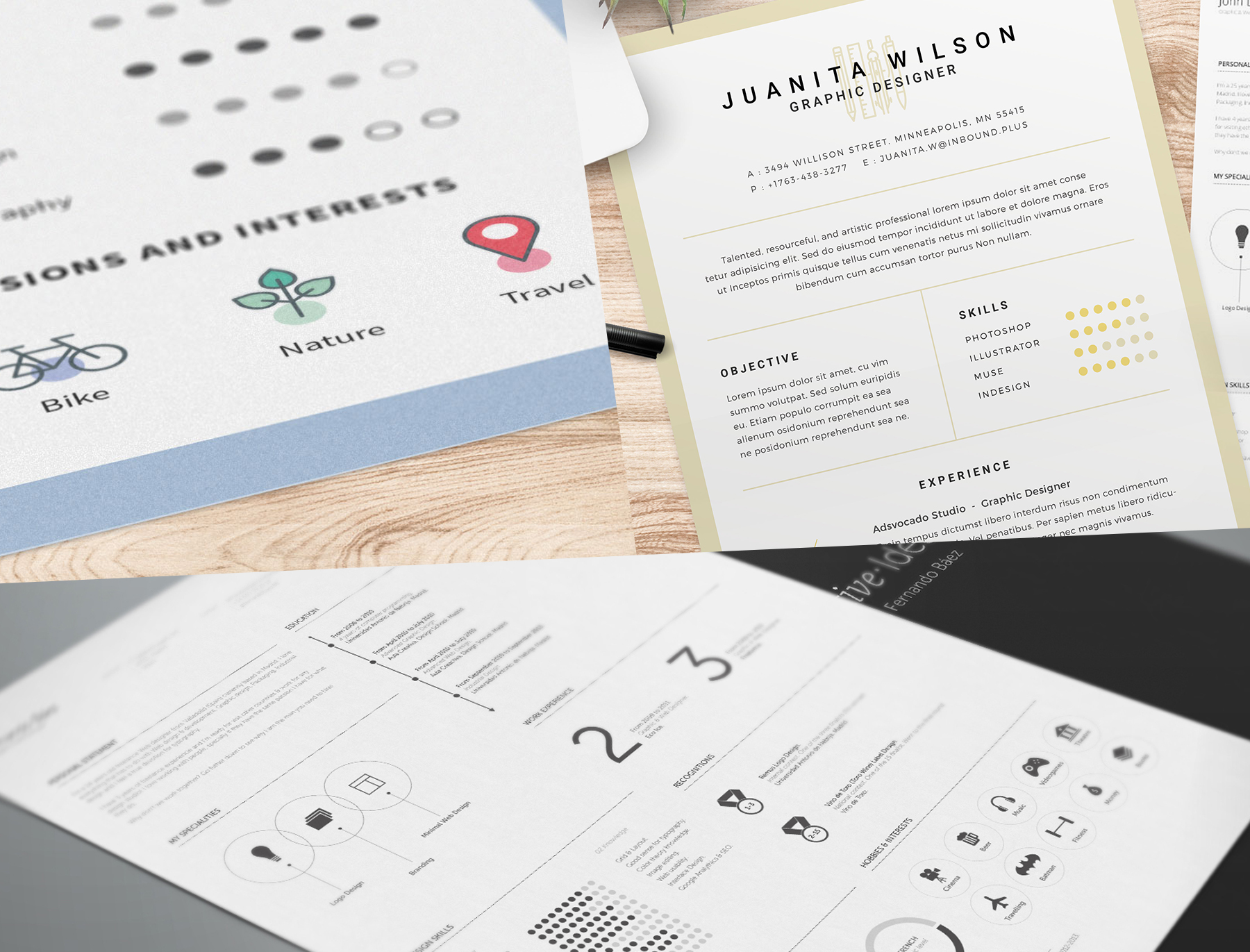 FreebieFriyay #3 - Gratis cv-template