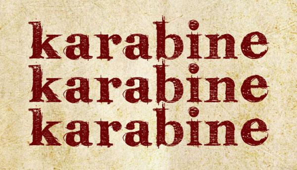 handgeschreven-font-karabine