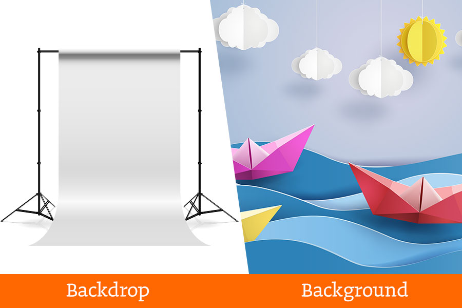 Grafische-termen-verkeerd-begrepen backdrop-background