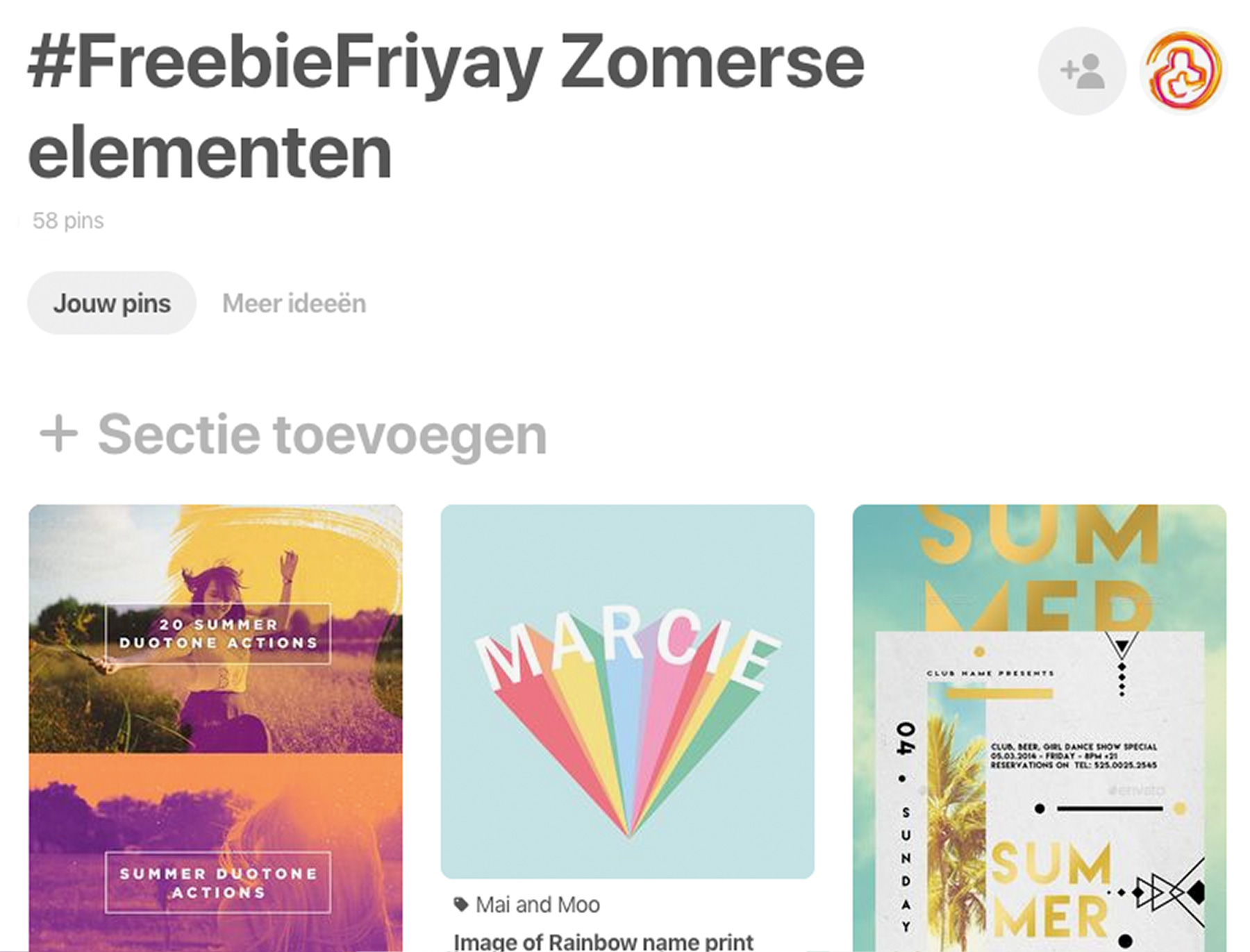 freebiefriyay-week-21 pinterest-zomerse-elementen