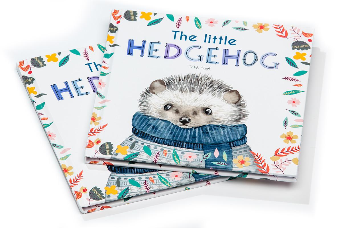 Zelf-boek-maken-Hedgehog