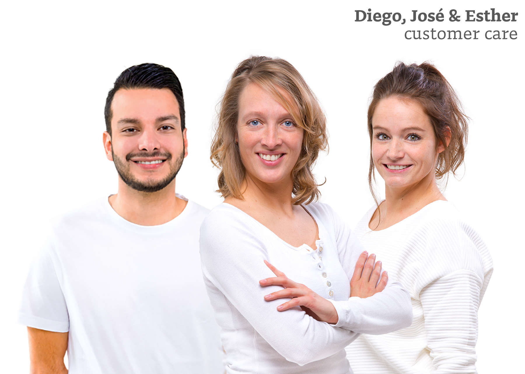 Diego, José, Esther