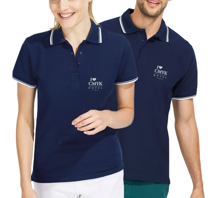 Polo's - Luxury Two-tone Polo