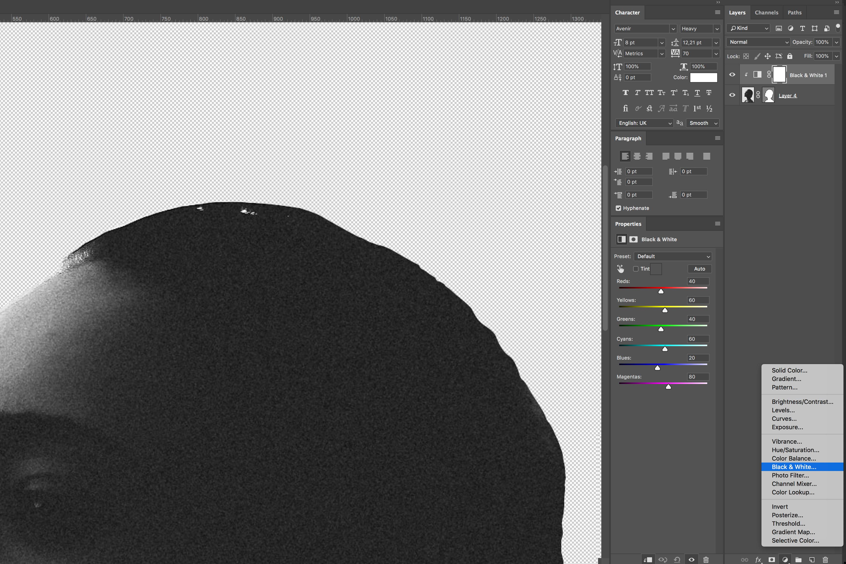 2. black-white