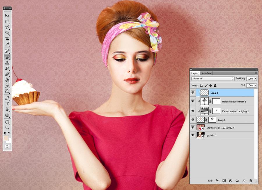 face-swap-photoshop-doorzichtigheid