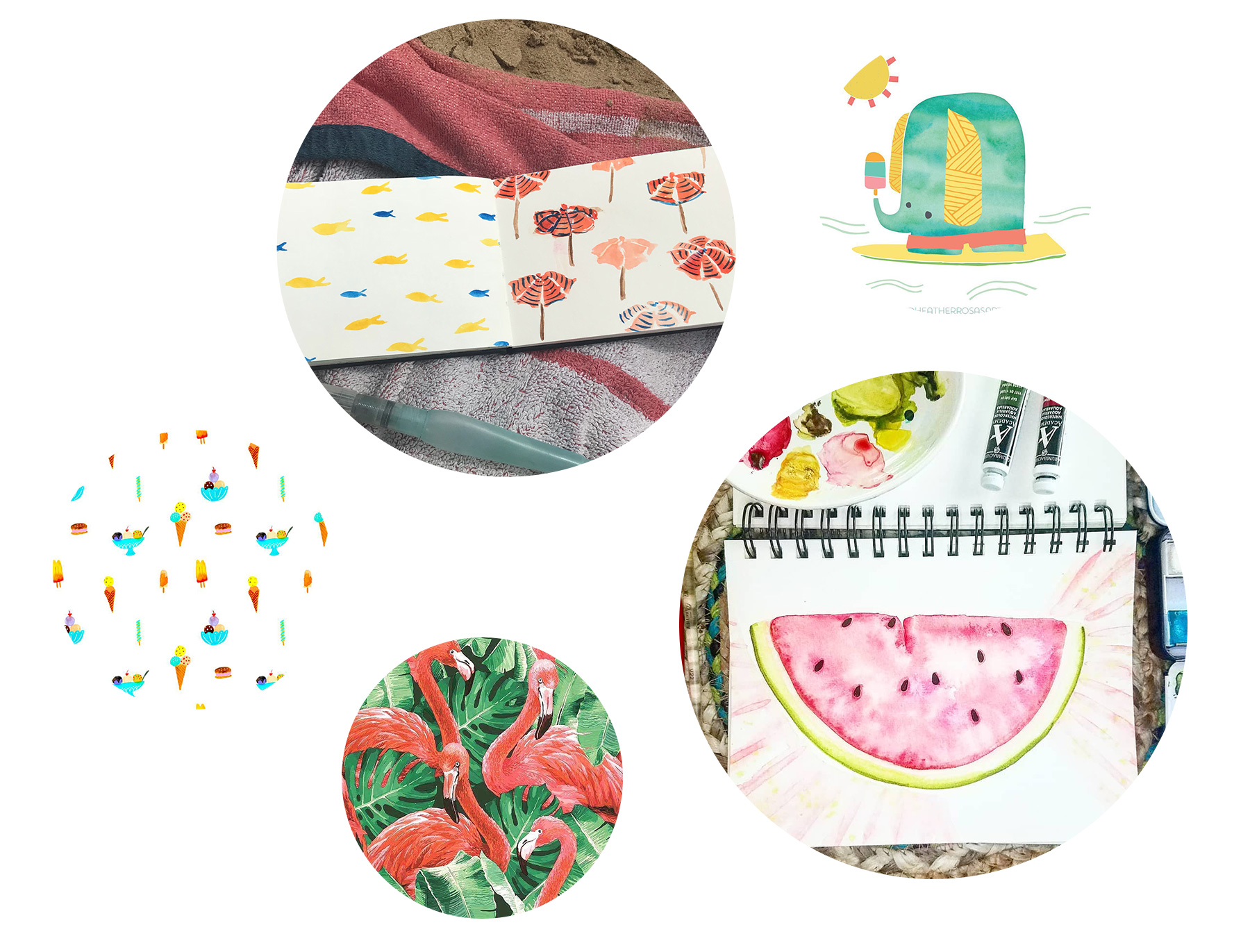 freebiefriyay-week-21 instagram-zomerse-elementen
