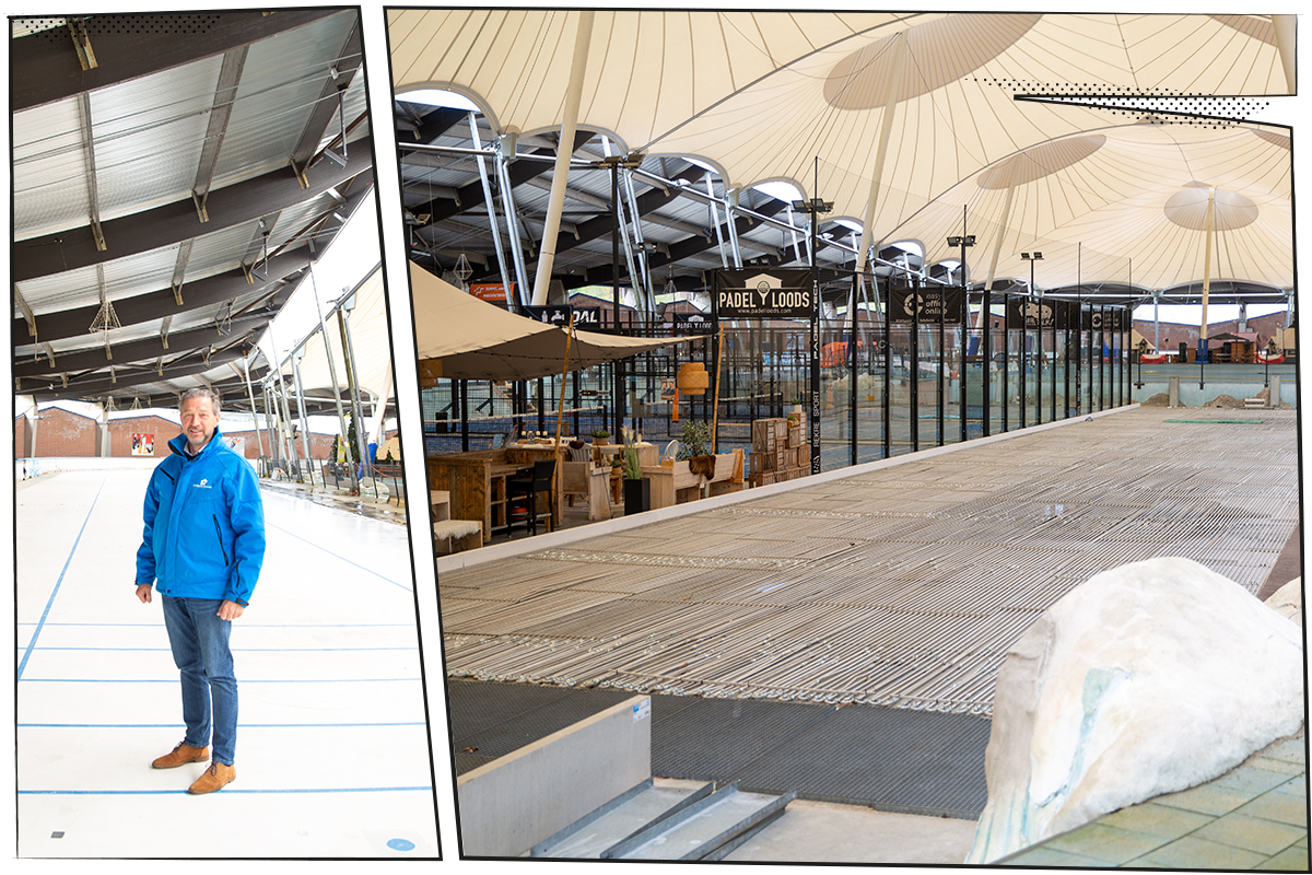 """De eerste curlingbaan van Oost-Nederland rolt uit onze printer: """"Heel eerlijk: ik wist niets van curling!"""""""