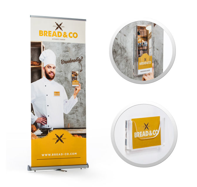 Brochurehouder-Magneet-Roll-up
