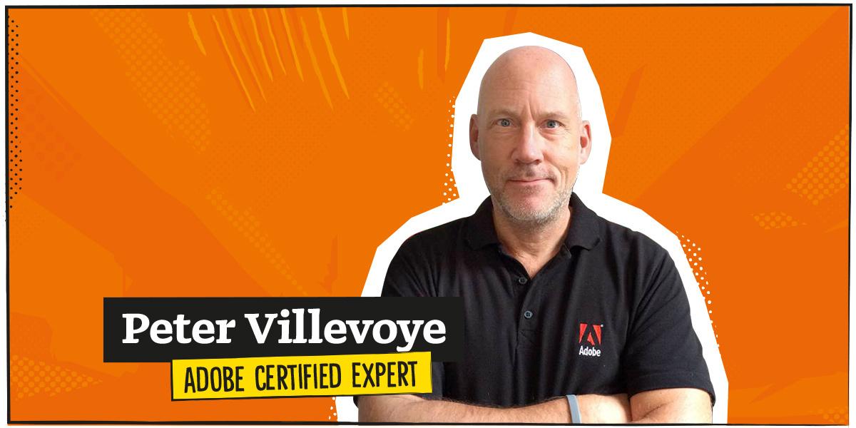 Peter Villevoye, Adobe Certified Expert