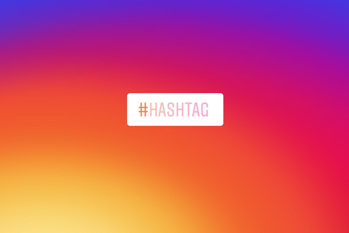 Blog hashtag