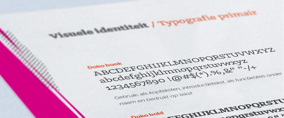huisstijl blogafbeeldingen typografie