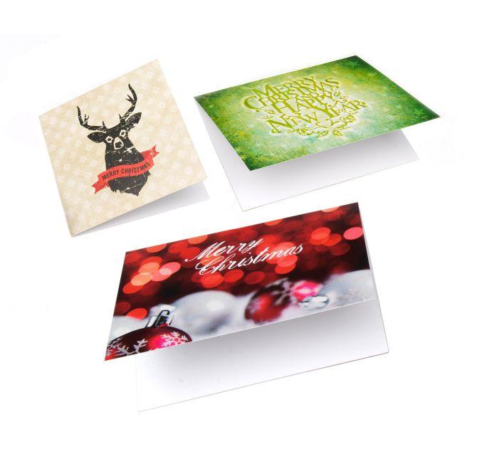 Verwonderlijk Kerstkaarten drukken & bestellen | Drukwerkdeal.nl LN-26