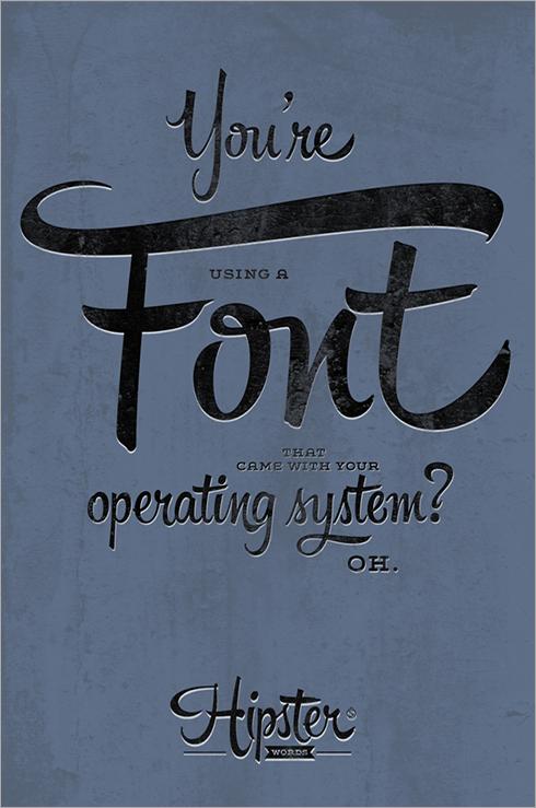 typografie-voorbeelden-1-hipster