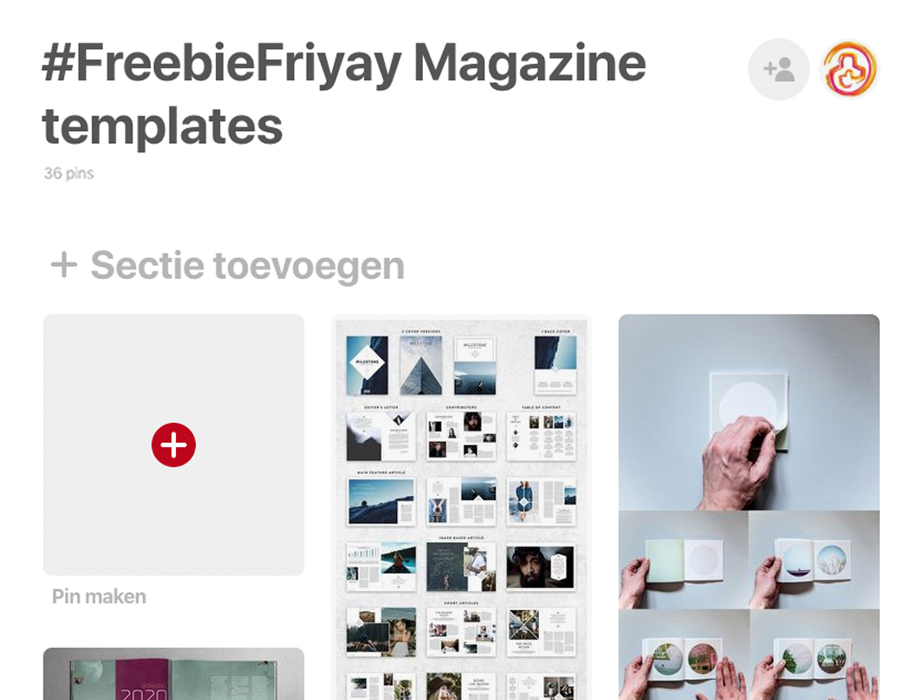 FreebieFriyay week 10 Pinterest