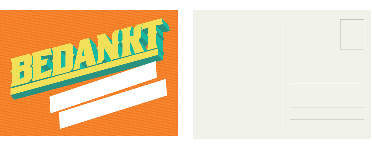 Tabblad-ontwerp ansichtkaart3