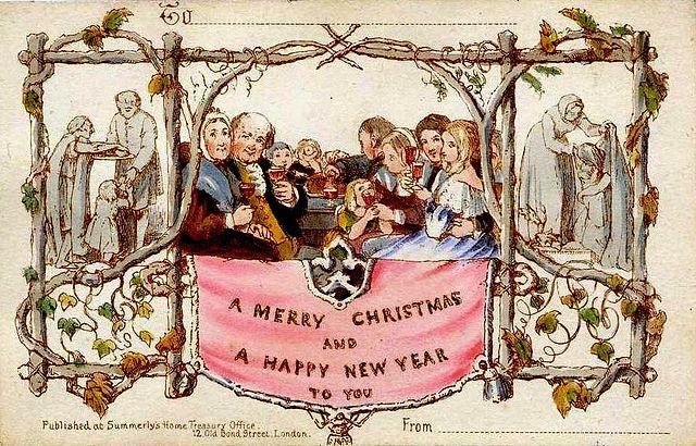 First-Christmas-Card-John-Callcott-Horsley