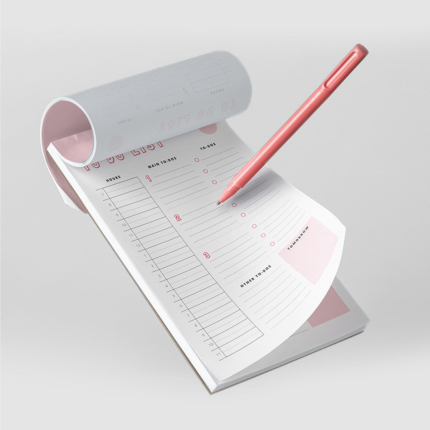 To do planners templates