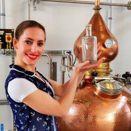 Cindy van der Lubbe van Poseidon Gin