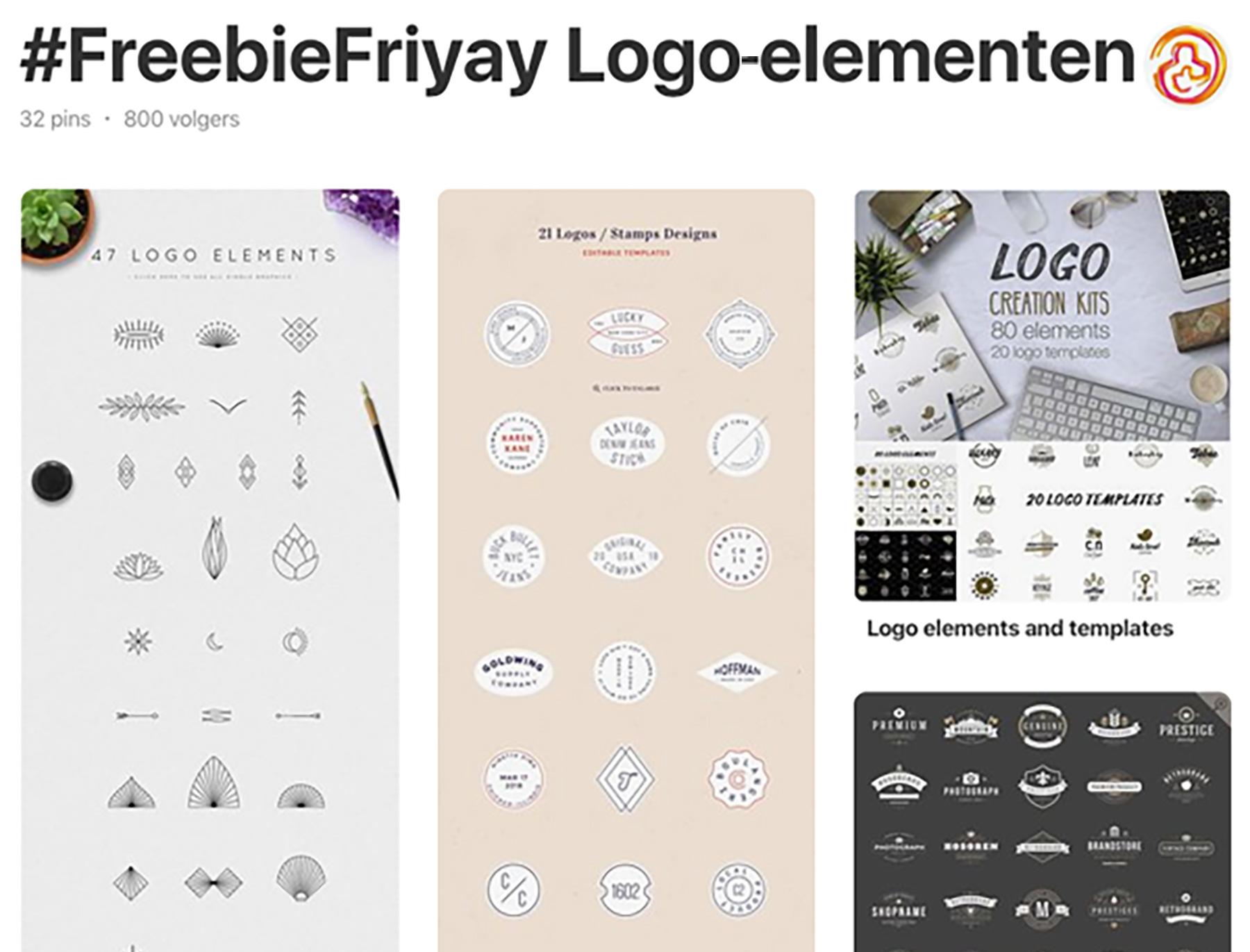 freebiefriyay-week-25 pinterest-logo-elementen