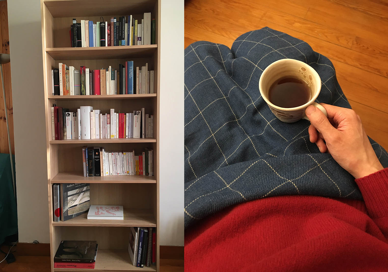 Bookshelf-tea