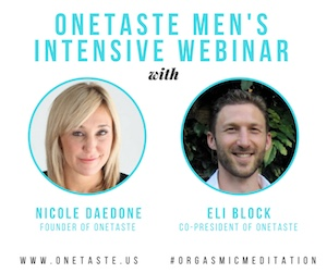 nicole daedone and eli block webinar