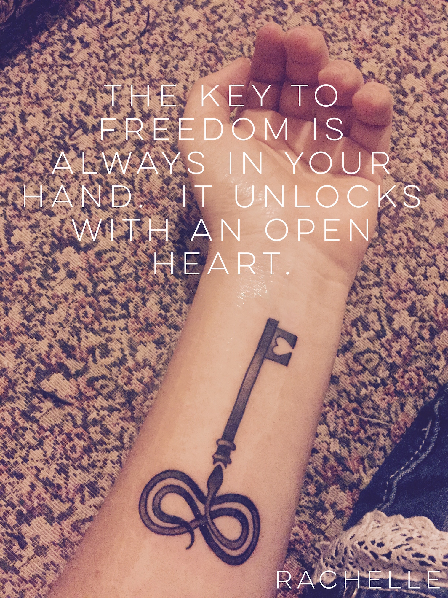 Forever Claiming the Key to My Freedom: My Tattoo