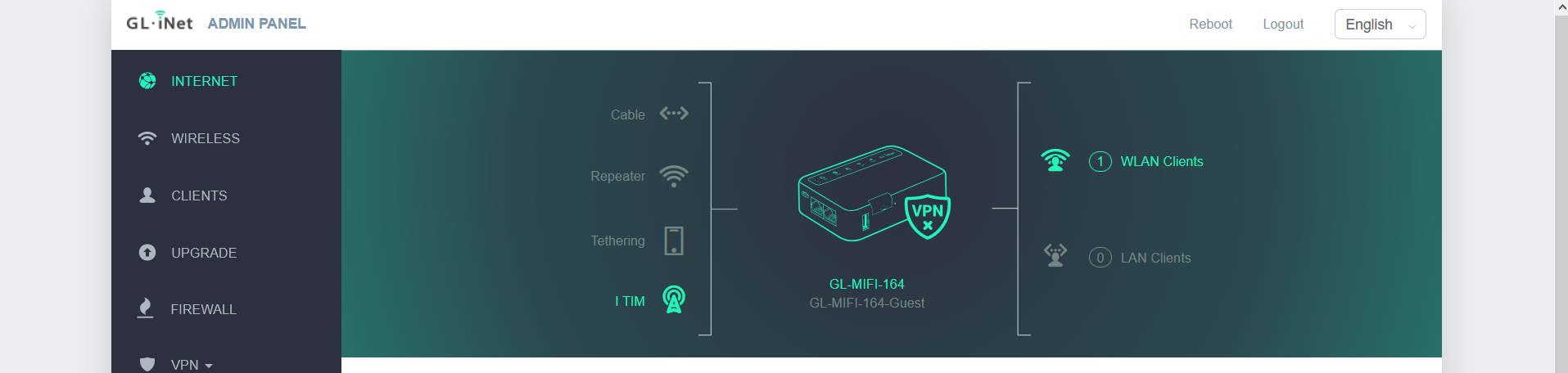 Check your connectivity to the Telnyx network on your GL-MiFi Router