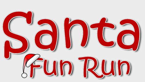 Santa Fun Run ved damhusengen