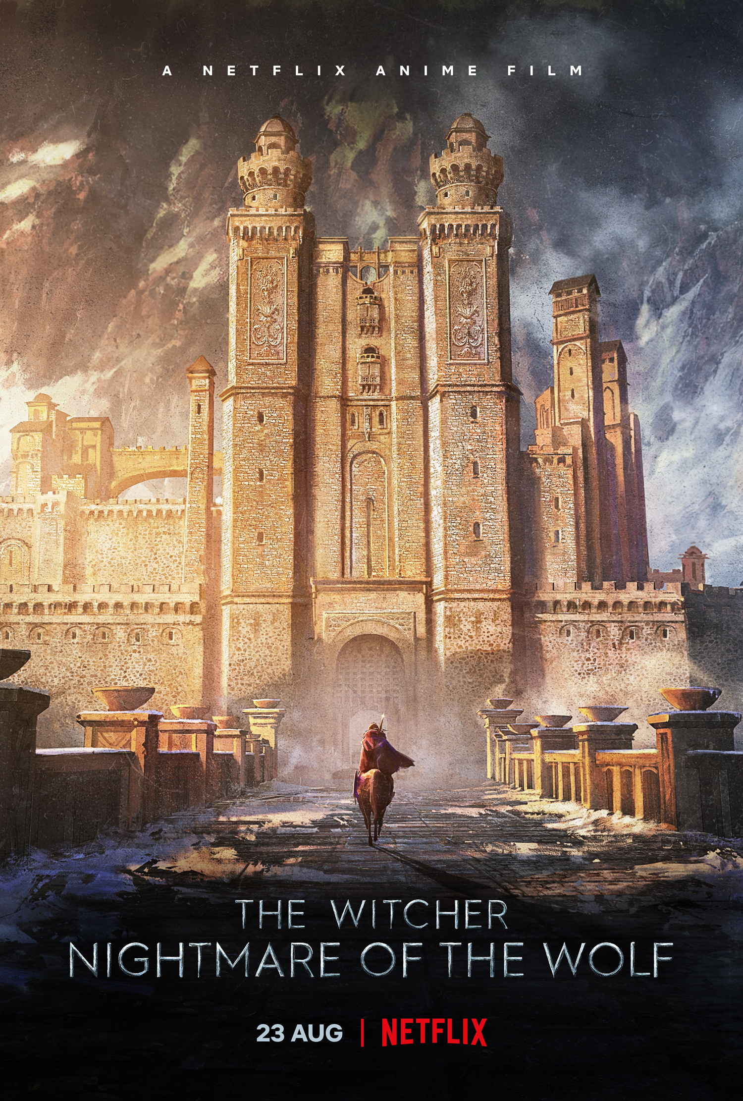 The Witcher Nightmare of the Wolf Key Art