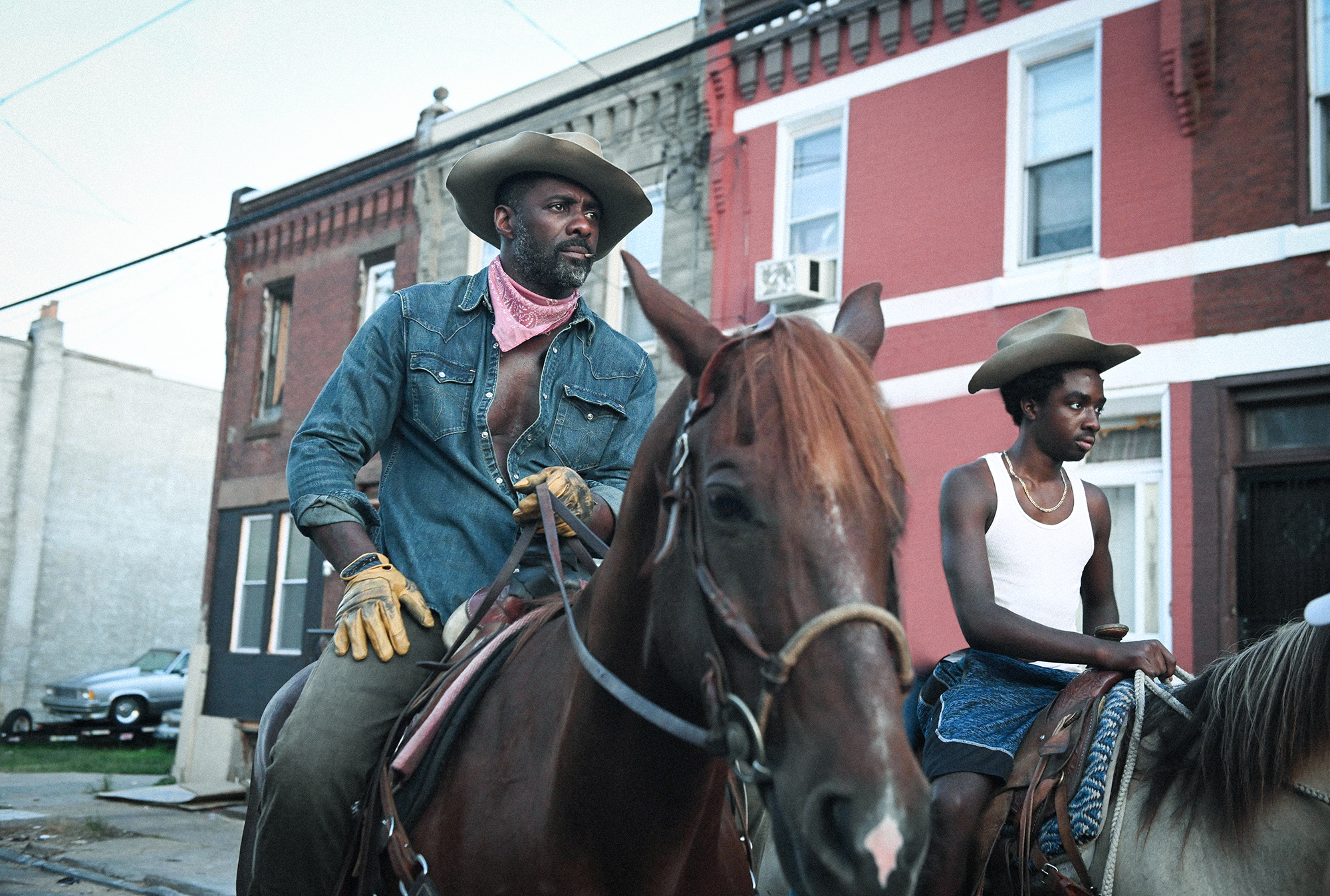 For Idris Elba, Learning to Ride Was One Small Part of Preparing for 'Concrete Cowboy'