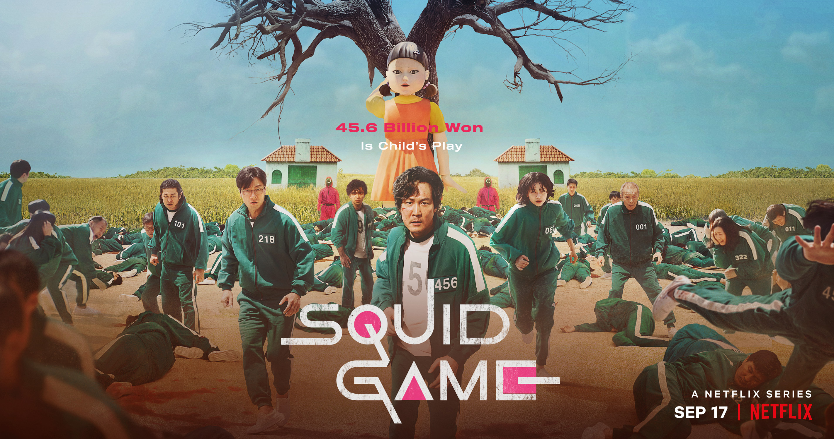 """About Netflix - """"Kill or Be Killed"""" Squid Game Main Trailer & Ensemble  Poster Released, Showing the Truth Behind the Deadly Games!"""
