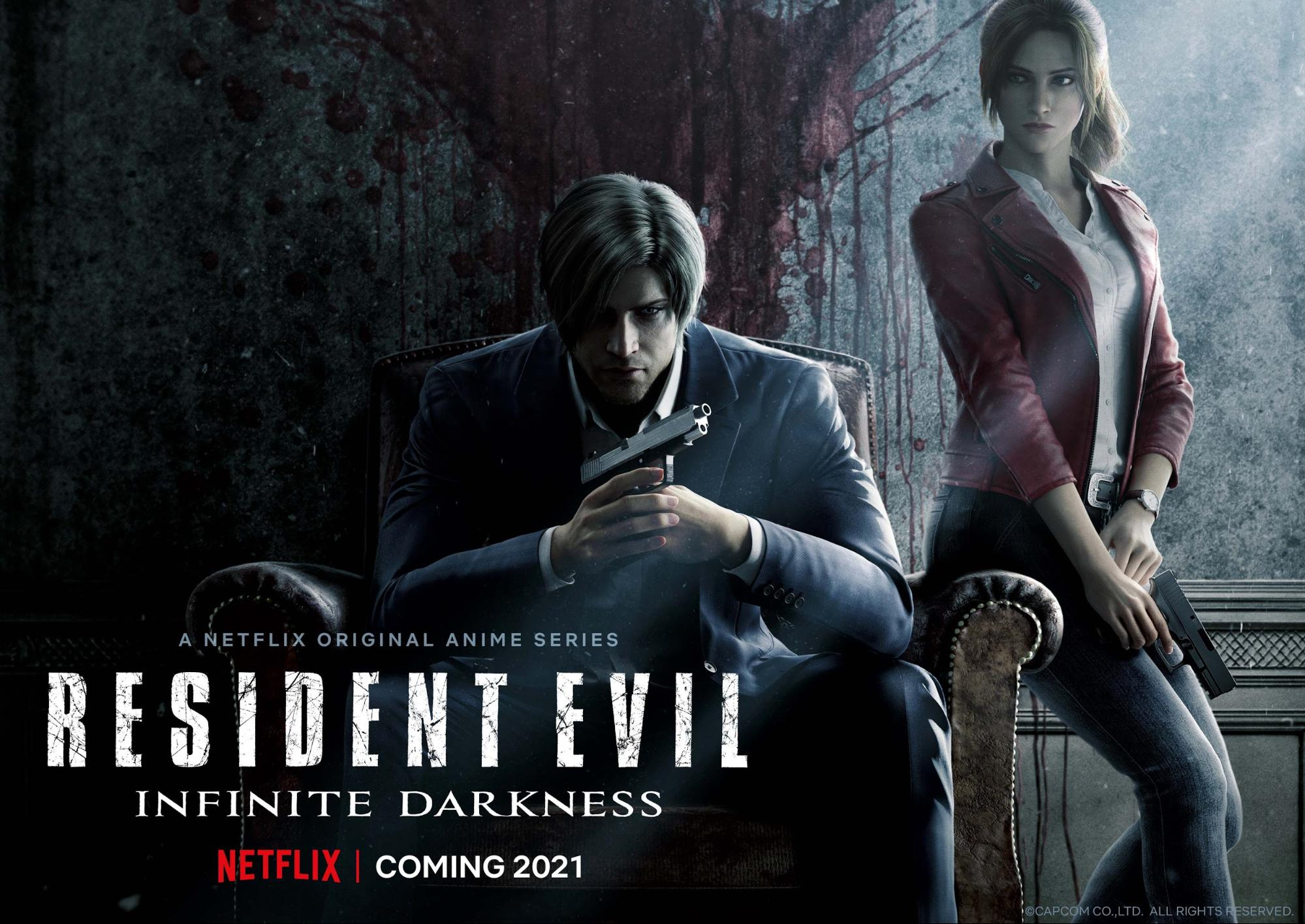 About Netflix - Netflix announces the original anime series 'RESIDENT EVIL: Infinite  Darkness' coming in 2021