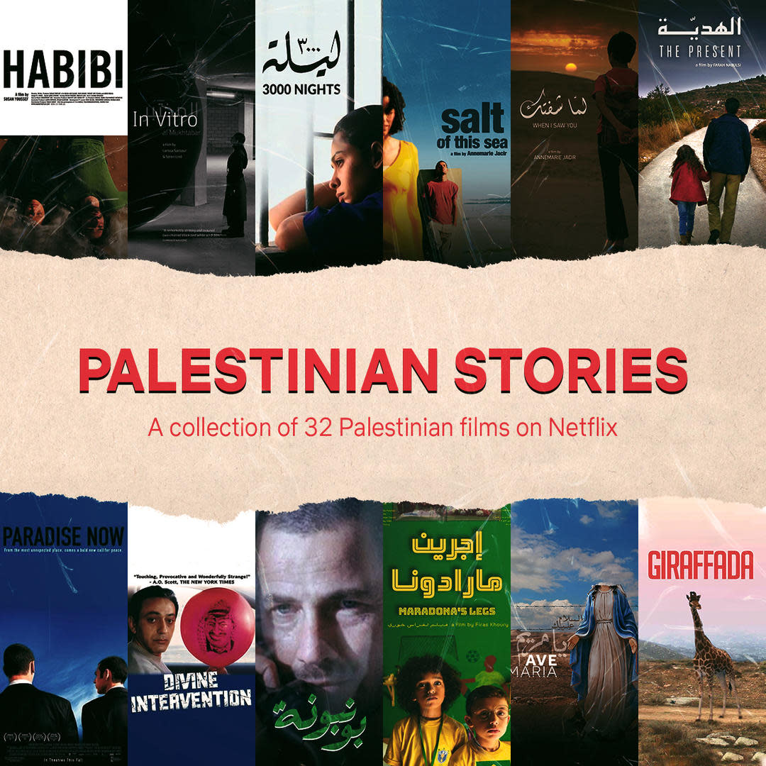 Netflix Launches 'Palestinian Stories' Collection With Award-Winning Films