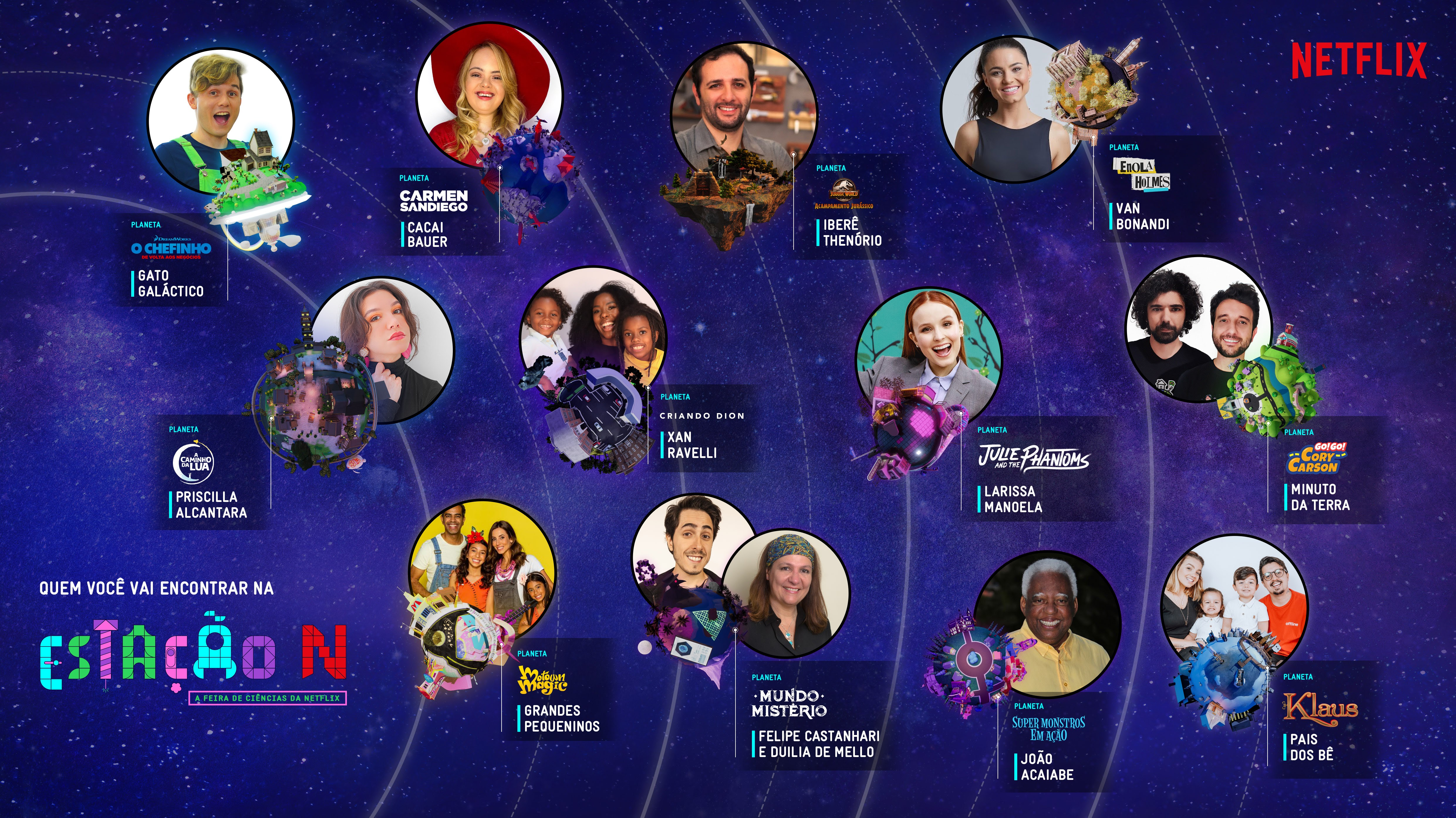 LIFTOFF CONFIRMED! ESTAÇÃO N - NETFLIX SCIENCE FAIR BRINGS TOGETHER TALENTS, INFLUENCERS AND LOTS OF FUN FOR THE WHOLE FAMILY