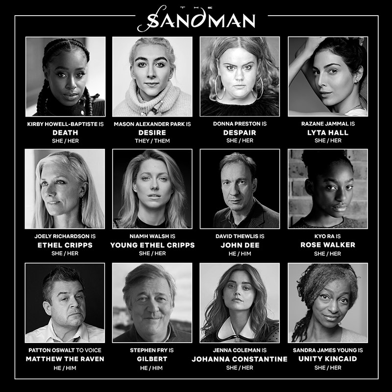 'The Sandman's' Latest Castings - and the Stories Behind Them