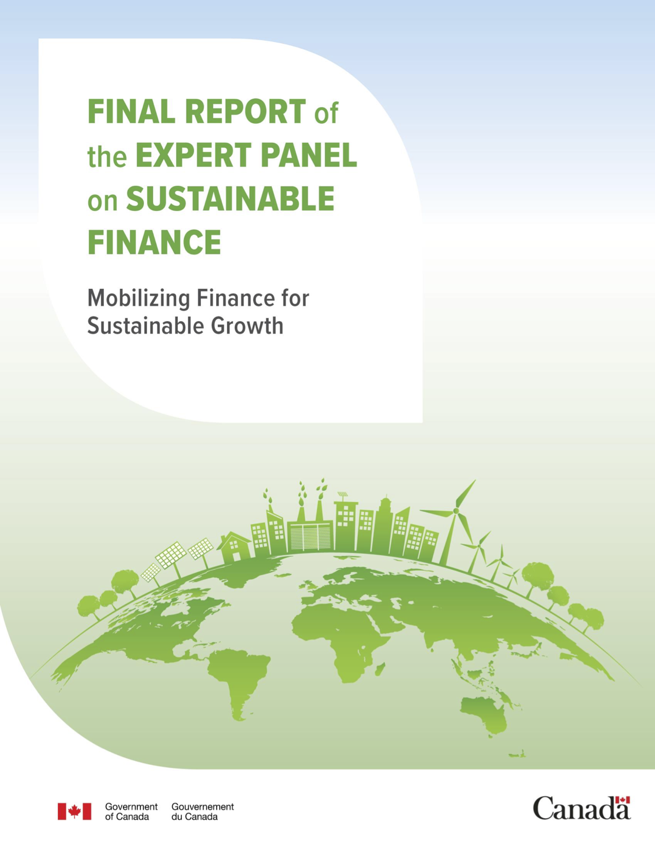 Final Report of the Expert Panel on Sustainable Finance
