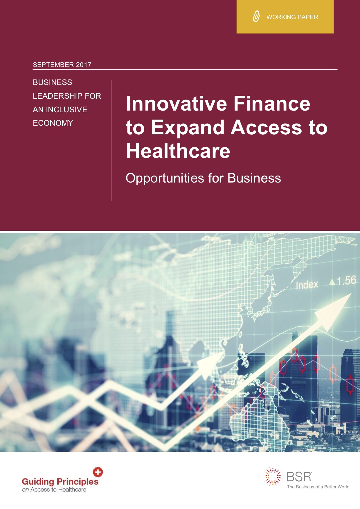 Innovative Finance to Expand Access to Healthcare: Opportunities for Business