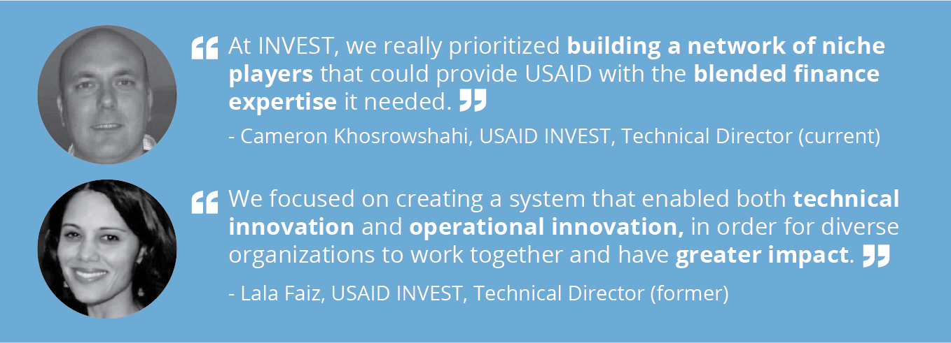Member spotlight with Lala Faiz and Cameron Khosrowshahi of USAID