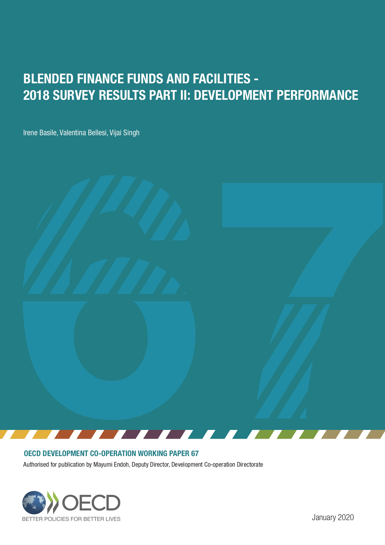 Blended Finance Funds and Facilities – 2018 Survey Results Part II: Development Performance