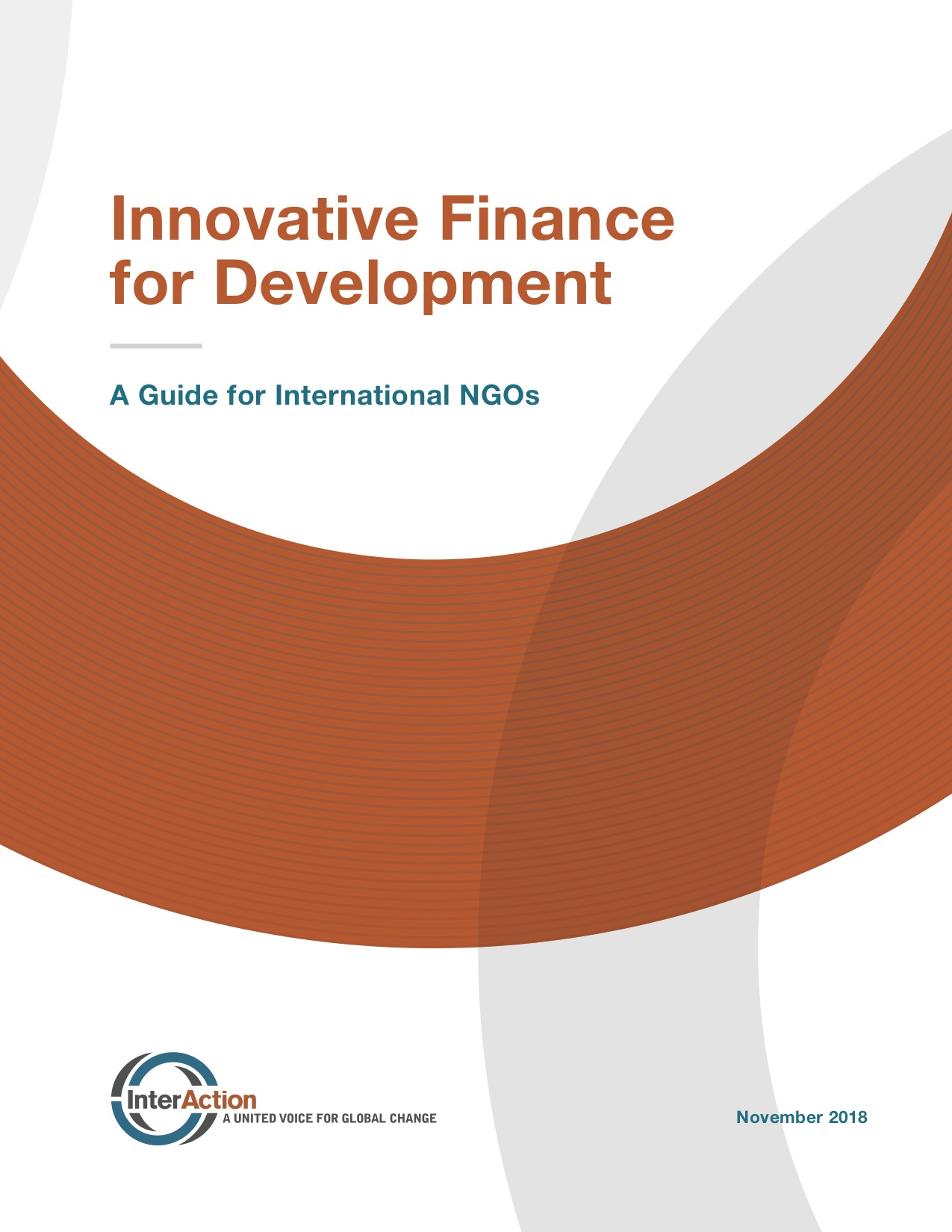 Innovative Finance for Development: A Guide for International NGOs
