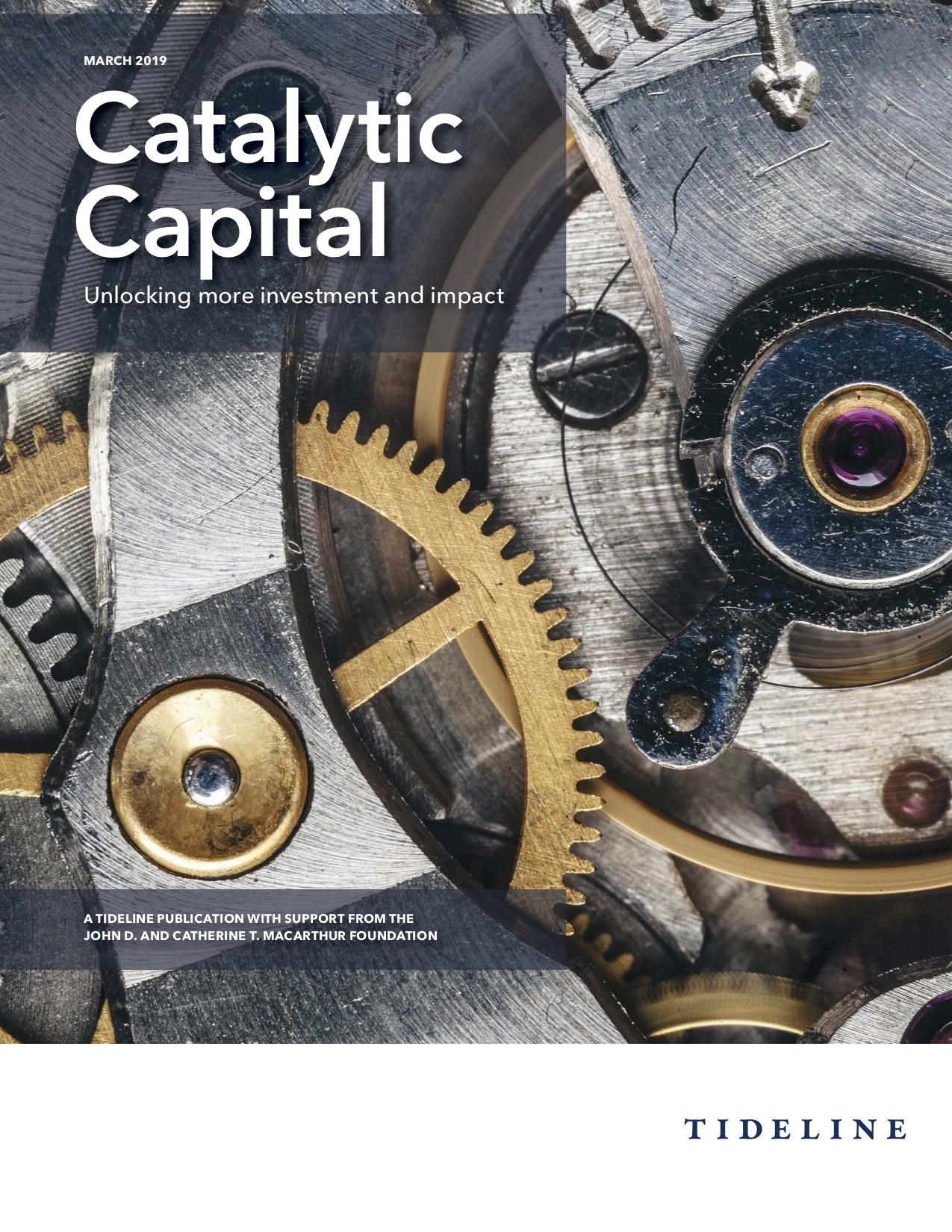 Catalytic Capital – Unlocking more investment and impact