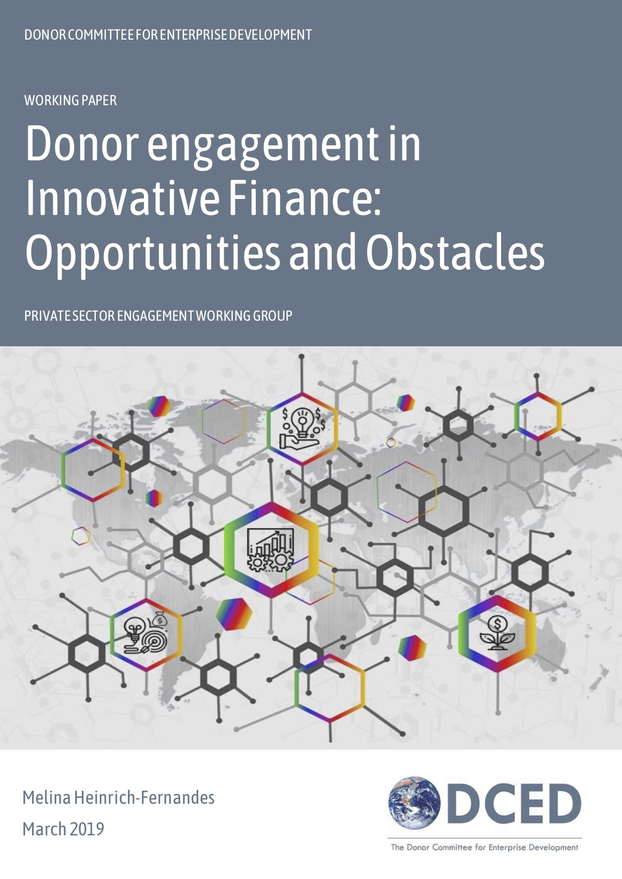 Donor engagement in Innovative Finance: Opportunities and Obstacles