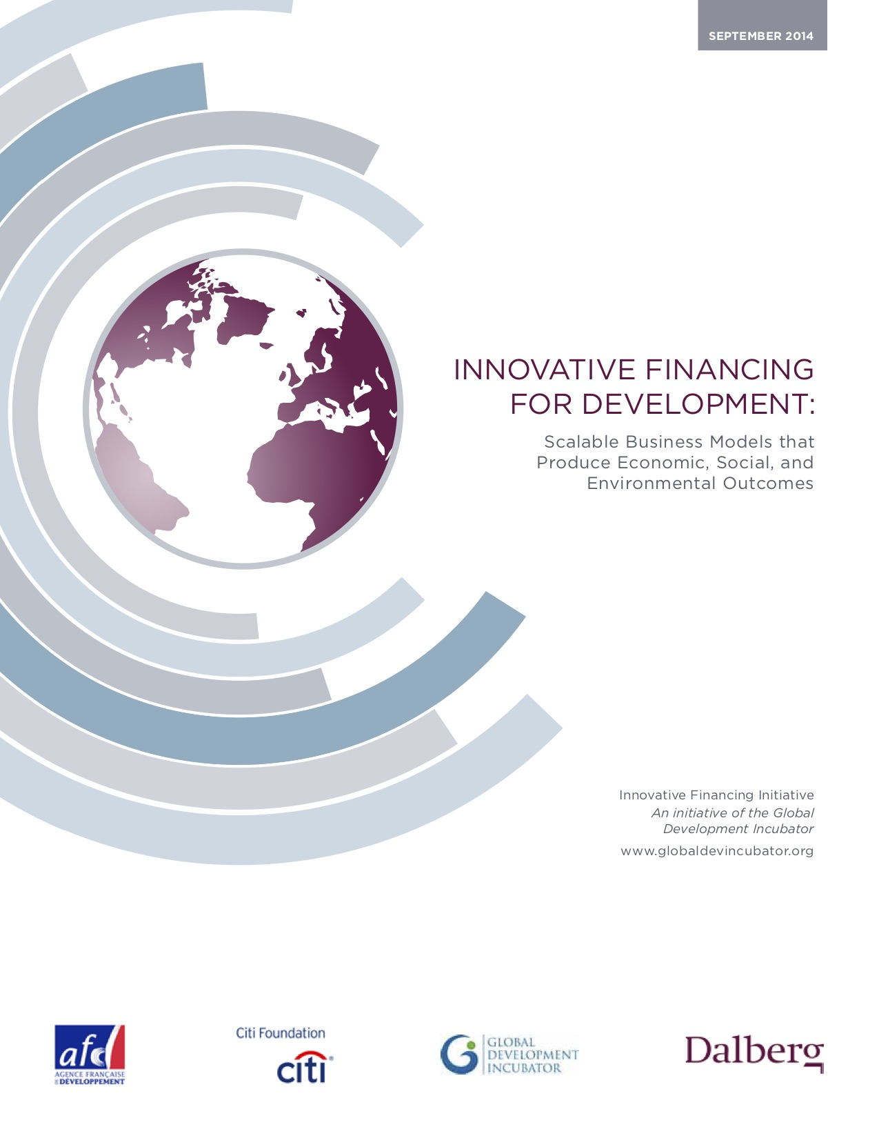 Innovative Financing for Development: Scalable Business Models that Produce Economic, Social, and Environmental Outcomes