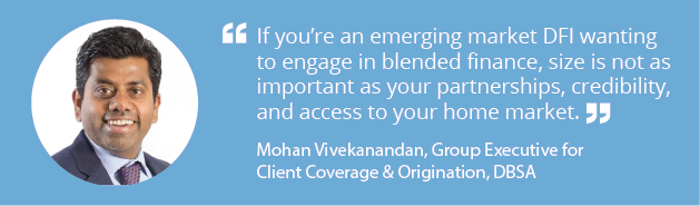 Member spotlight with Mohan Vivekanandan of Development Bank of Southern Africa