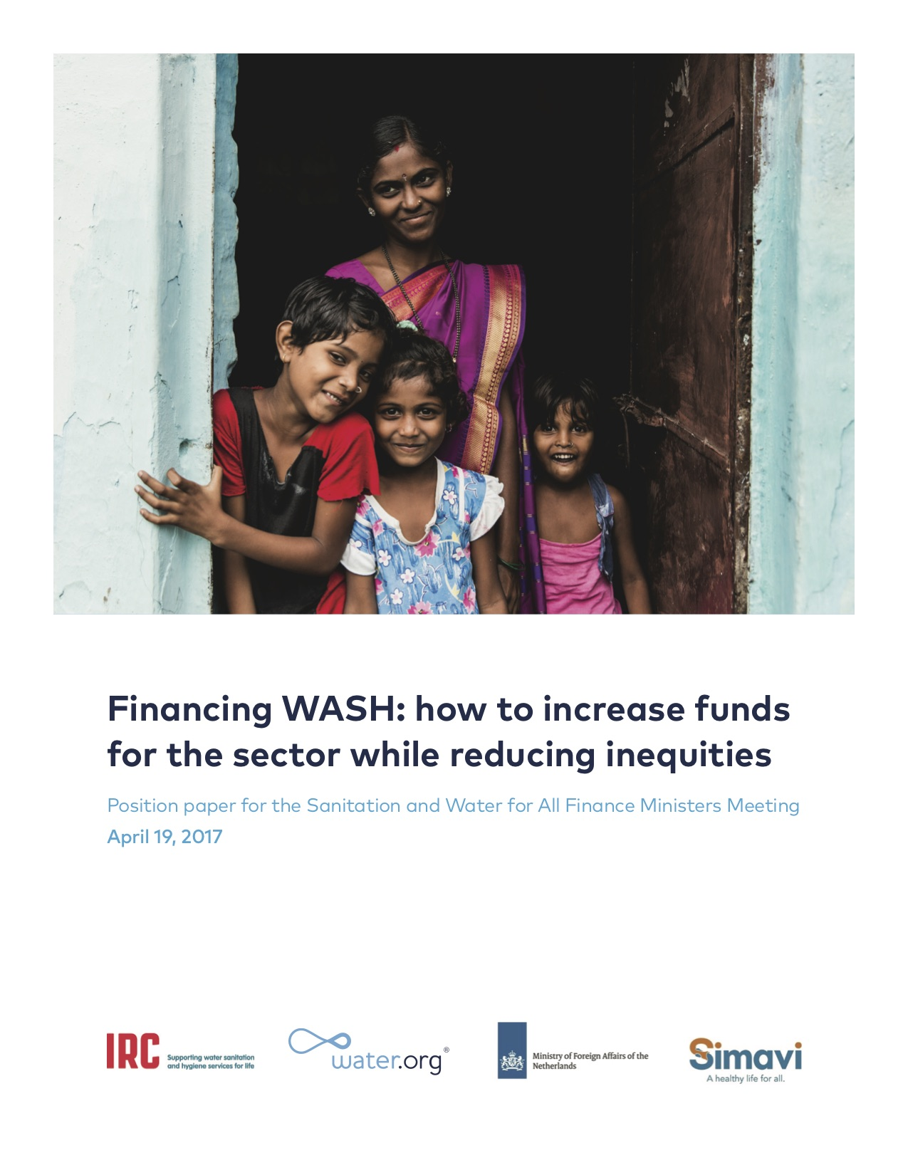 Financing WASH: how to increase funds for the sector while reducing inequities