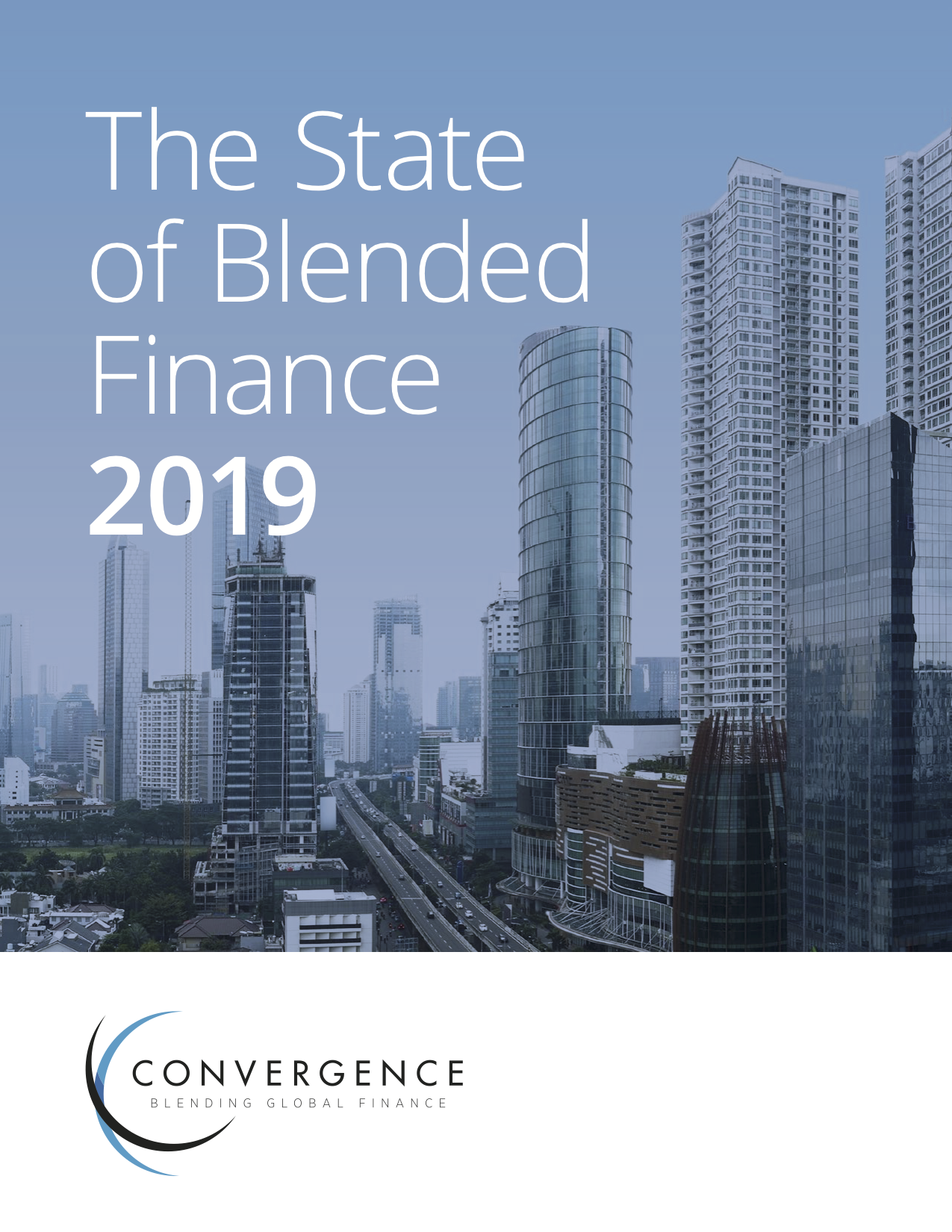 The State of Blended Finance 2019