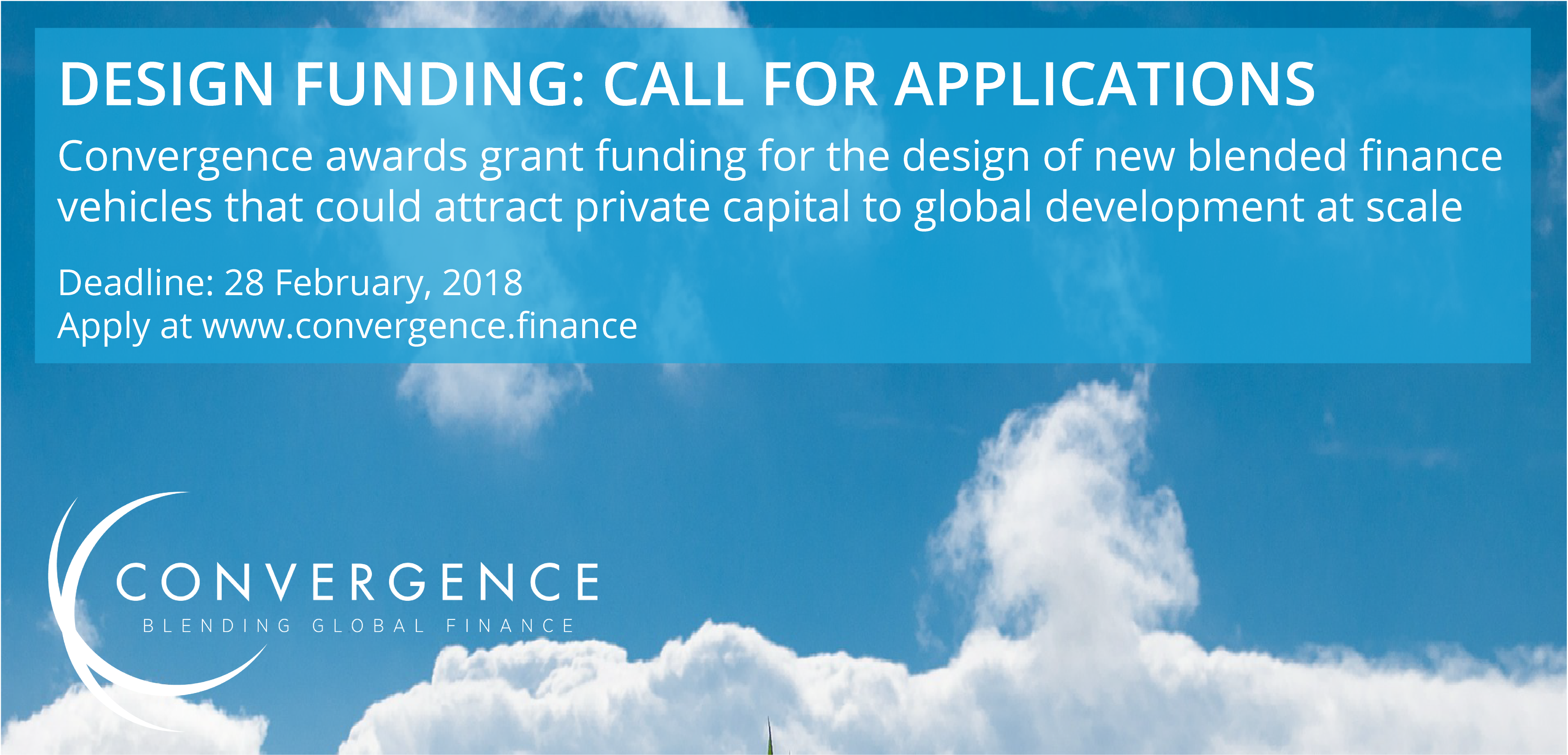 Design Funding for catalytic blended finance vehicles