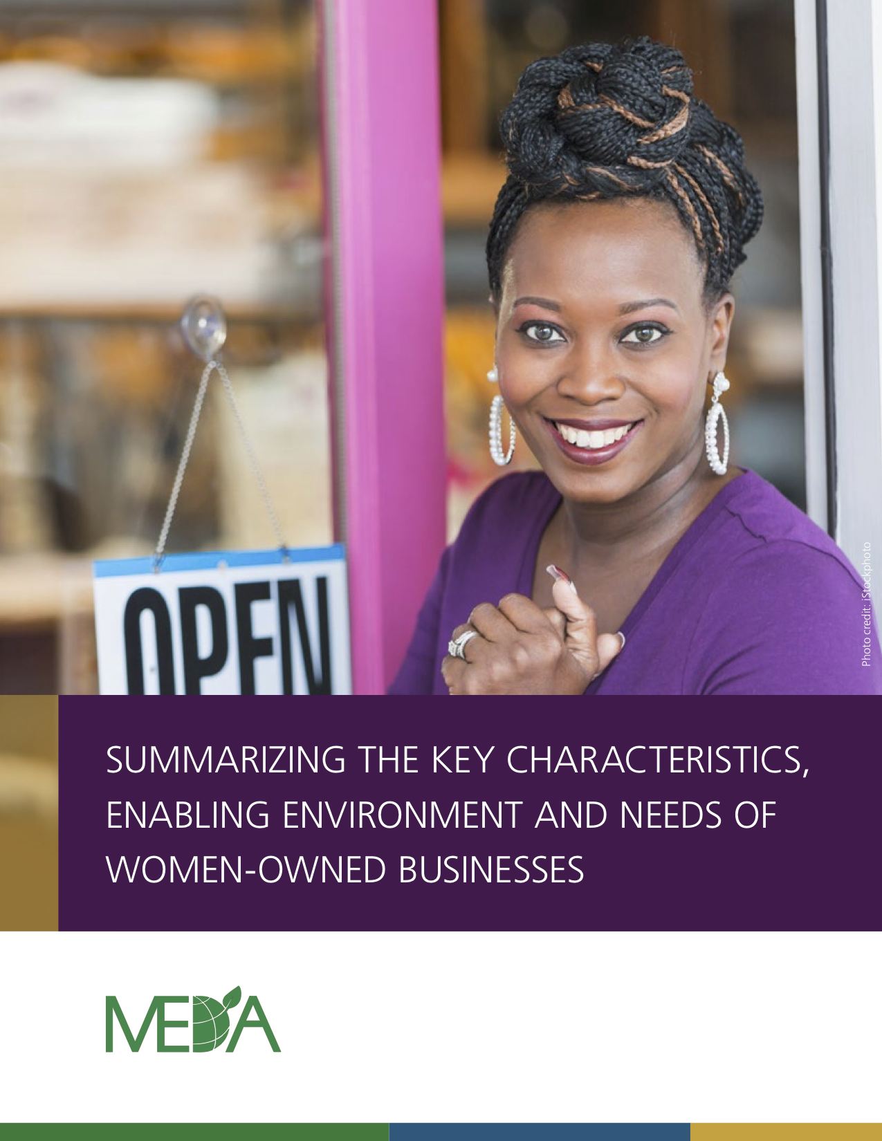 Summarizing the key characteristics, enabling environment, and needs of women-owned businesses