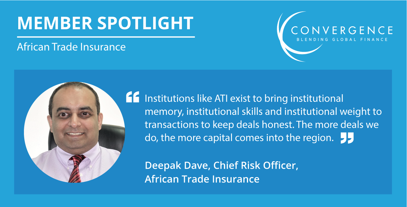 Member Spotlight with Deepak Dave, Chief Risk Officer at African Trade Insurance