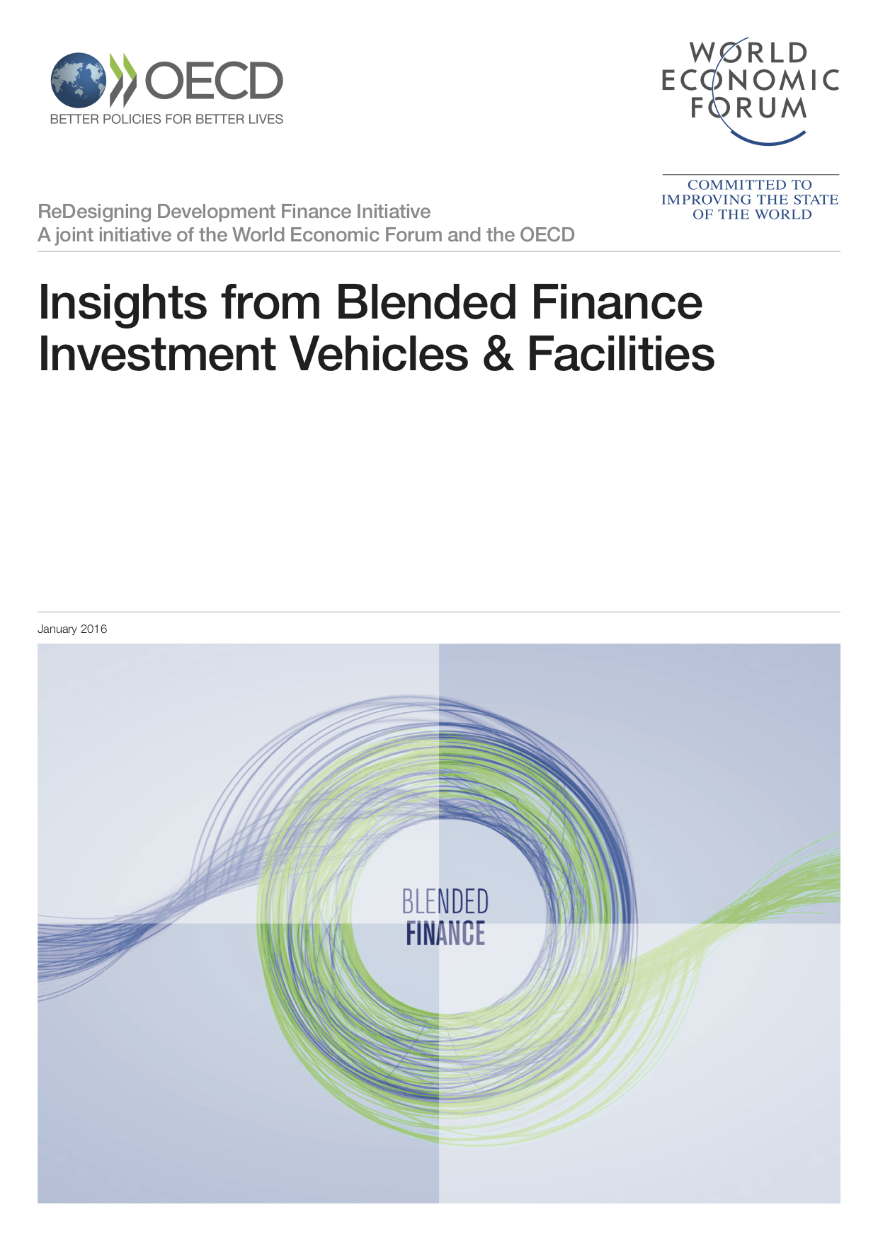 Insights from Blended Finance Investment Vehicles & Facilities